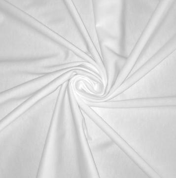 Singlejersey Baumwolle/Modal 135g/m² Weiß 0,25m (242000)