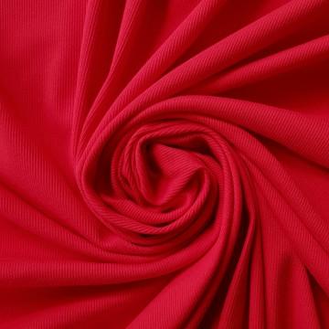 Feinripp mit Baumwolle 175g/m² Rot 0,25m (258026)