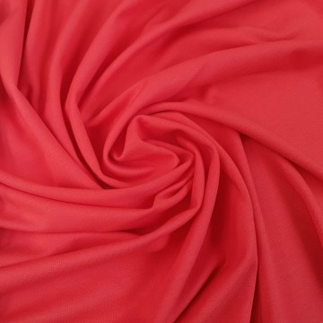 Interlock Romanit Viskose Polyester 290g/m² Koralle 0,25m (261002)