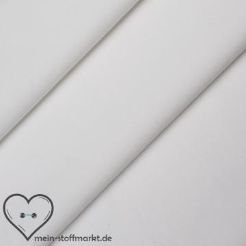 Singlejersey Polyamid Elastan 120g/m² Weiß 0,25m (328215)