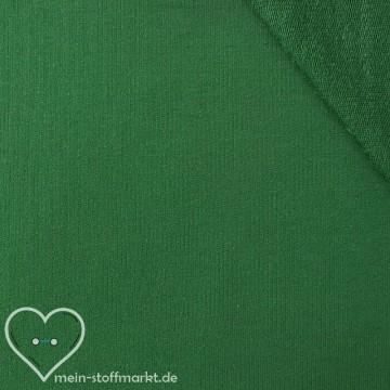 Sommersweat Baumwolle/PES/Elastan 270g/m² Grün 0,25m (351010)