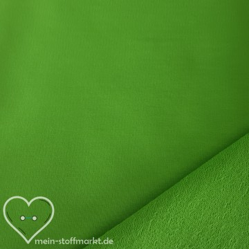Sweat Baumwolle/Elastan 280g/m² Hellgrün 0,25m (358119)