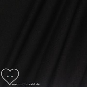 Viskosejersey mit Elastan 180g/m² Schwarz geflammt 0,25m (368068)