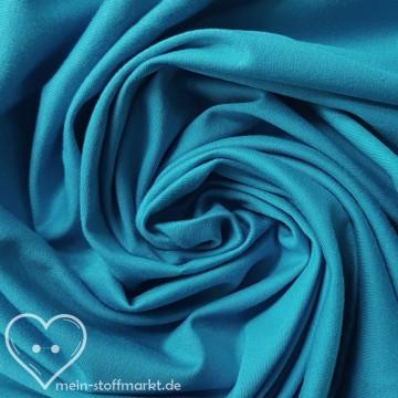 Baumwollinterlock 143g/m² Blau 0,25m (450029)