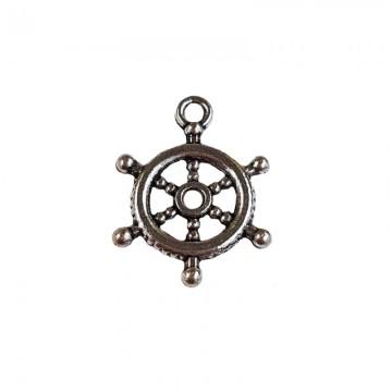 Anhänger Ruder Maritim Silber