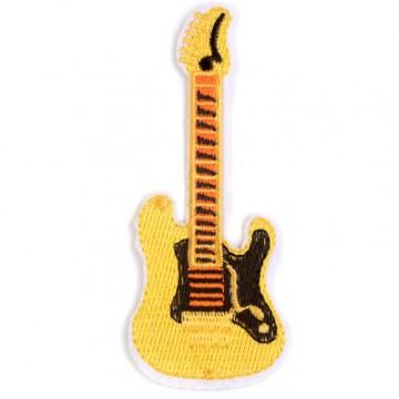 Aufbügler Applikation Gitarre