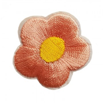 Aufbügler Blume Lachs