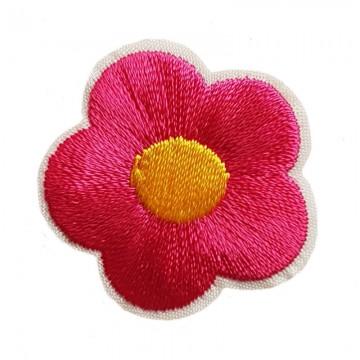 Aufbügler Blume Pink