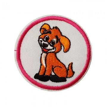 Aufbügler rund Hund