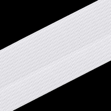 Gummiband 40mm x 2m weiß