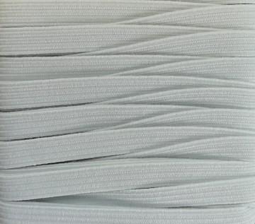 Gummiband 5mm x 5m Weiß