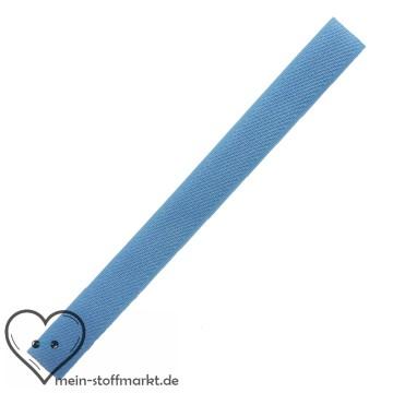 Klettverschluss 2x20cm Hellblau