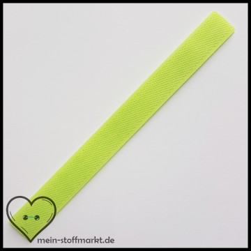 Klettverschluss 2x20cm Hellgrün
