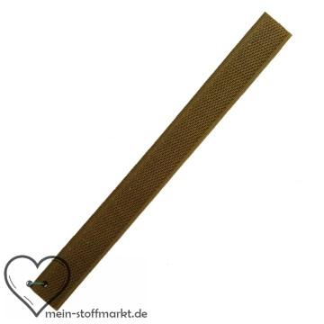 Klettverschluss 2x20cm Oliv