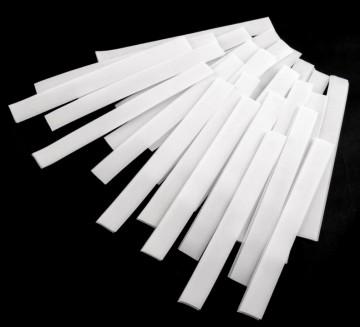 Klettverschluss 2x20cm Weiß