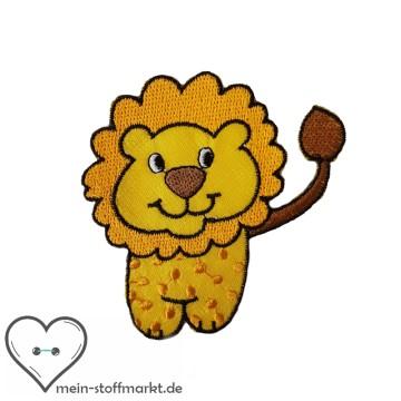 Aufnäher Patch Löwe Gelb