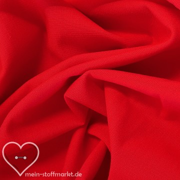 Sweat Baumwolle/PES/Elastan 270g/m² Rot 0,25m (M272/1)