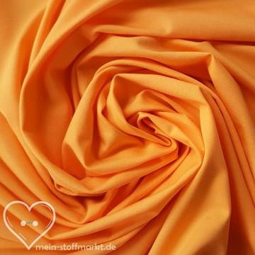 Baumwolljersey mit Elastan 130g/m² Orange 0,25m (M273A4)
