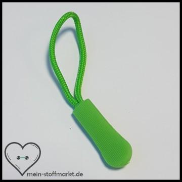 Zipper Reißverschluss-Anhänger Grün