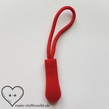 Zipper Reißverschluss-Anhänger Rot