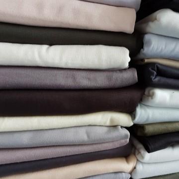 Ü-Stoffpaket Jersey 100% Baumwolle Naturtöne Grau Braun