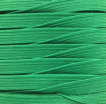 Gummiband 7mm x 5m Grün